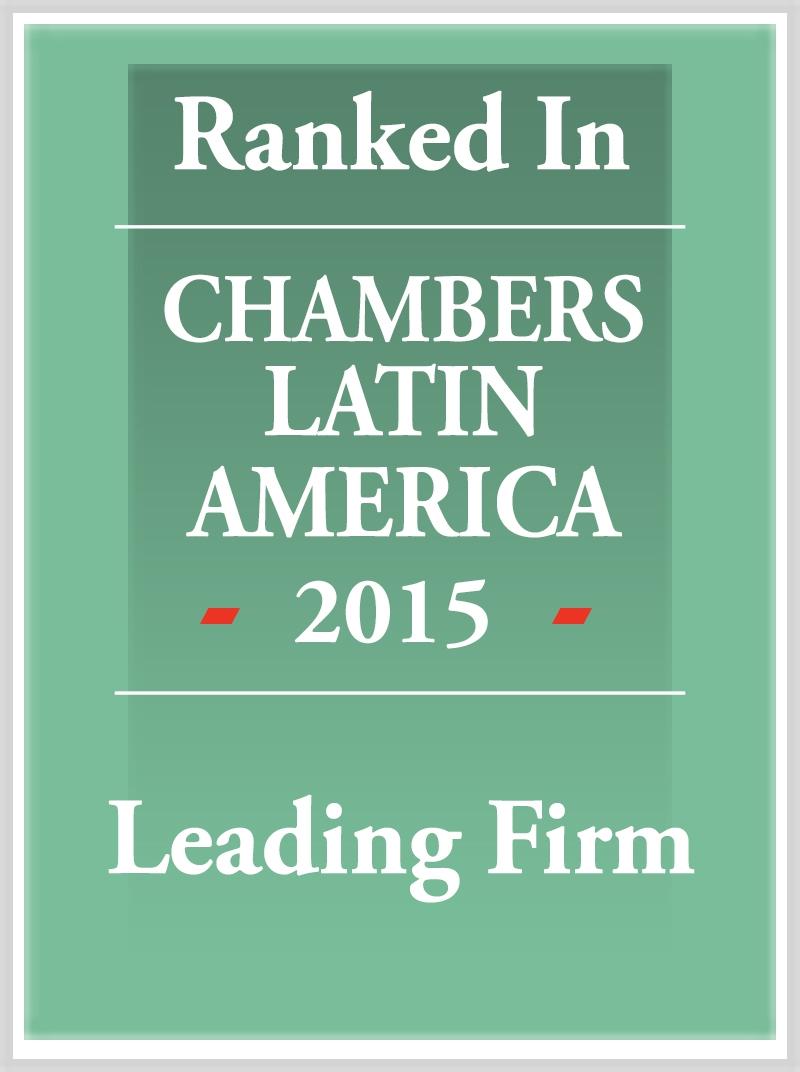 Chambers distinguió a PdelC como una Firma líder en materia laboral