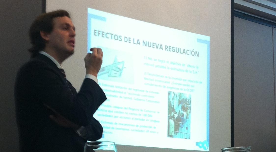 Participación de Santiago Pérez del Castillo y Miguel Casanova en eventos académicos