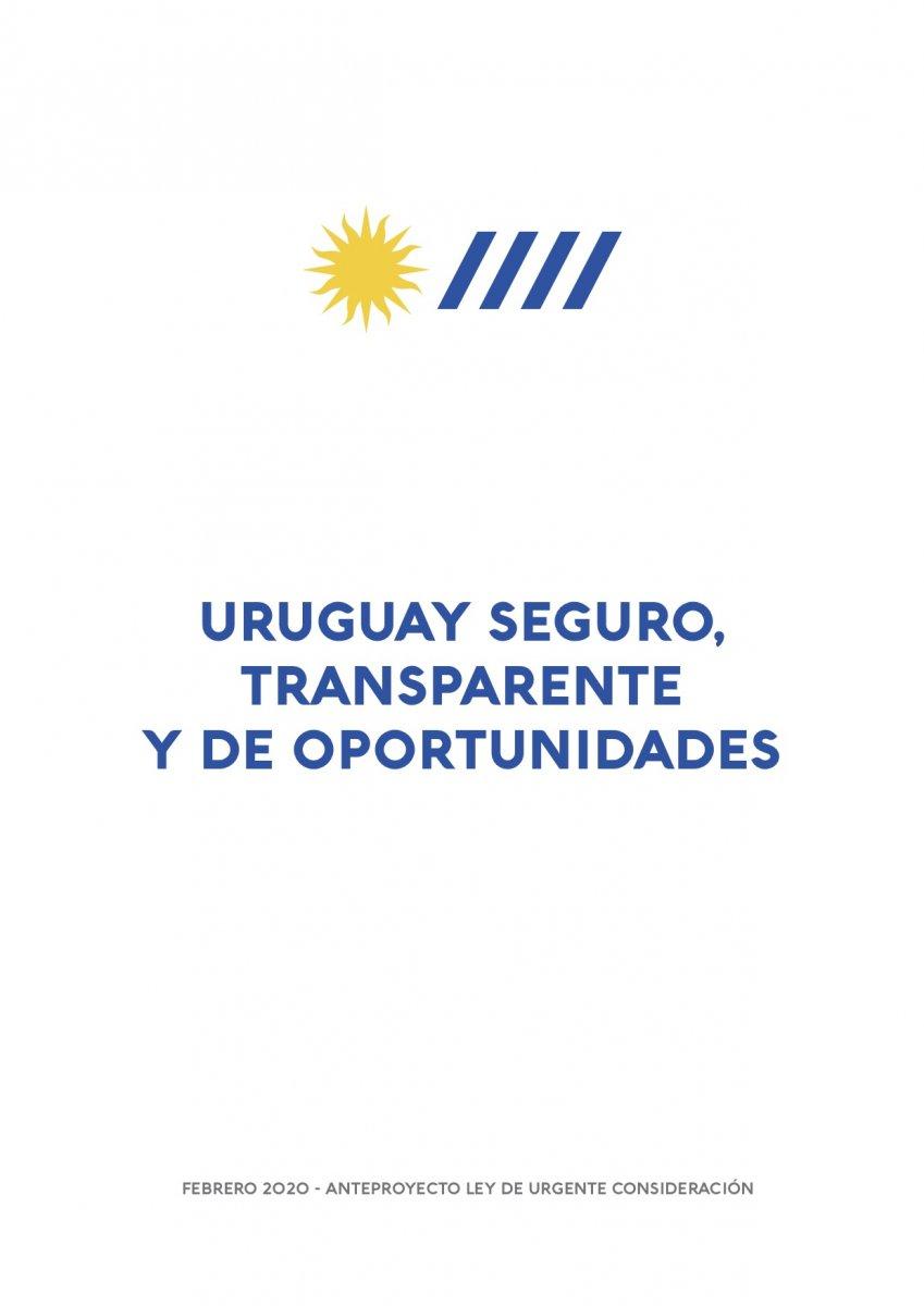 Propuestas laborales y de seguridad social en el anteproyecto de la Ley de Urgente Consideración